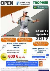 Affiche open tcc septembre 2017