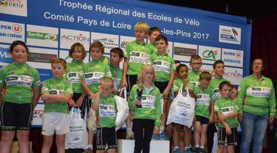 L'école de cyclisme du CCC au trophée régional
